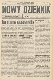 Nowy Dziennik. 1932, nr192