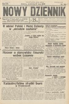 Nowy Dziennik. 1932, nr193