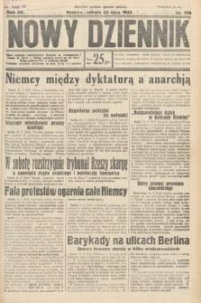 Nowy Dziennik. 1932, nr199