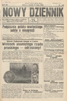Nowy Dziennik. 1932, nr203