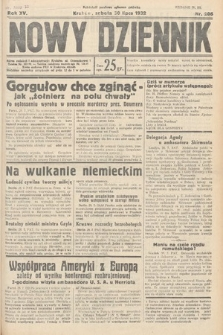 Nowy Dziennik. 1932, nr206