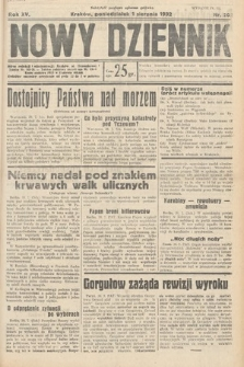 Nowy Dziennik. 1932, nr208
