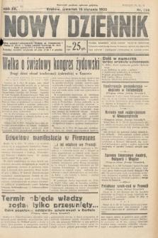 Nowy Dziennik. 1932, nr225