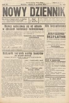 Nowy Dziennik. 1932, nr255