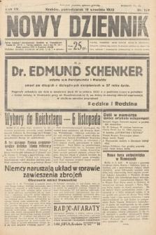Nowy Dziennik. 1932, nr257