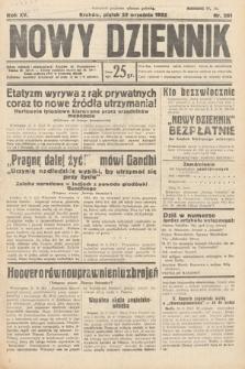 Nowy Dziennik. 1932, nr261