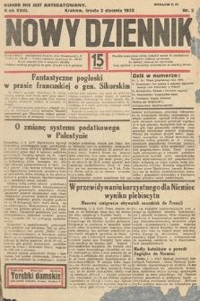 Nowy Dziennik. 1935, nr2