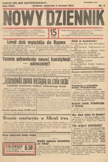 Nowy Dziennik. 1935, nr3