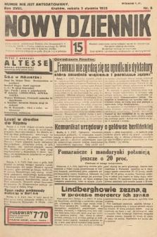 Nowy Dziennik. 1935, nr5