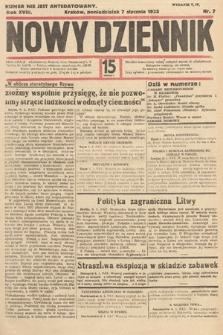 Nowy Dziennik. 1935, nr7