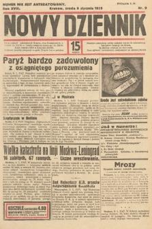 Nowy Dziennik. 1935, nr9
