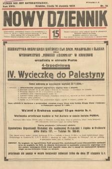 Nowy Dziennik. 1935, nr16