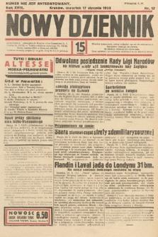 Nowy Dziennik. 1935, nr17