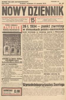 Nowy Dziennik. 1935, nr27