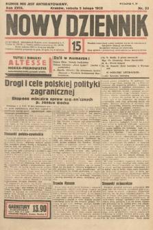 Nowy Dziennik. 1935, nr33