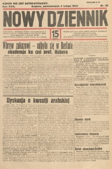 Nowy Dziennik. 1935, nr35