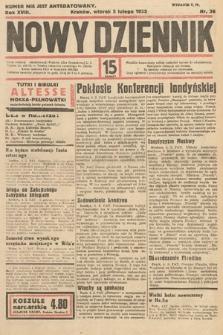 Nowy Dziennik. 1935, nr36