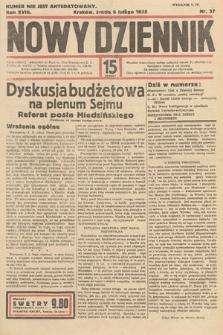Nowy Dziennik. 1935, nr37