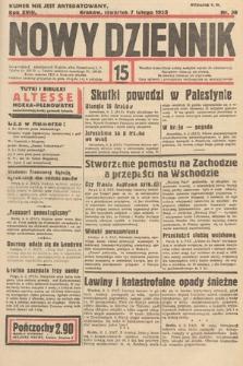 Nowy Dziennik. 1935, nr38