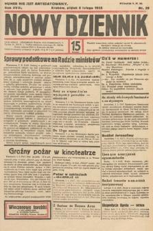 Nowy Dziennik. 1935, nr39