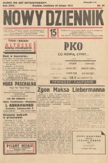 Nowy Dziennik. 1935, nr41