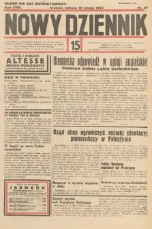 Nowy Dziennik. 1935, nr47