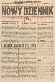 Nowy Dziennik. 1935, nr49
