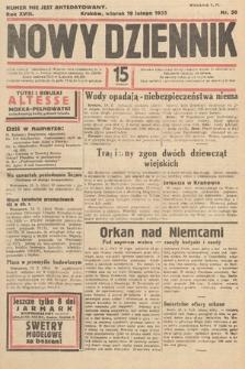 Nowy Dziennik. 1935, nr50