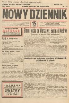 Nowy Dziennik. 1935, nr55
