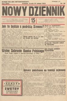 Nowy Dziennik. 1935, nr58