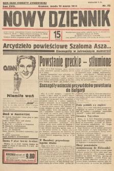 Nowy Dziennik. 1935, nr72
