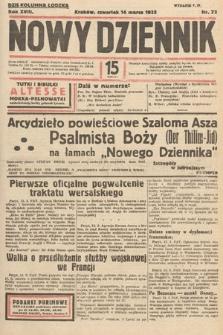 Nowy Dziennik. 1935, nr73