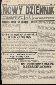 Nowy Dziennik. 1932, nr271