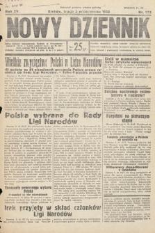 Nowy Dziennik. 1932, nr272