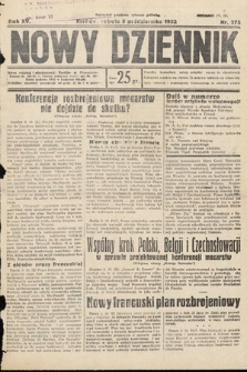Nowy Dziennik. 1932, nr275