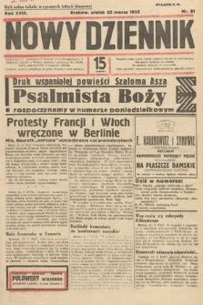 Nowy Dziennik. 1935, nr81