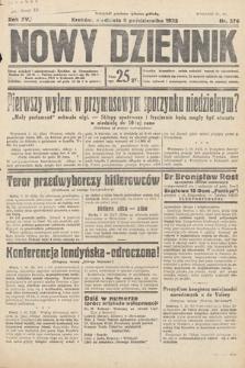 Nowy Dziennik. 1932, nr276