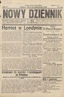 Nowy Dziennik. 1932, nr281