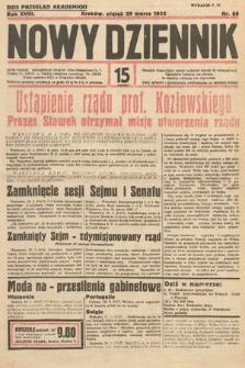 Nowy Dziennik. 1935, nr88