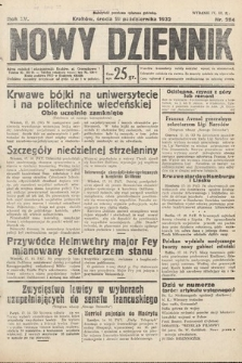 Nowy Dziennik. 1932, nr284