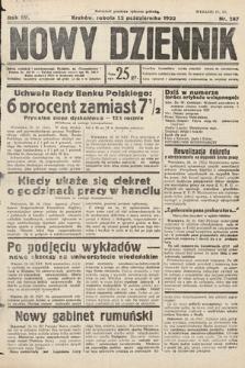 Nowy Dziennik. 1932, nr287