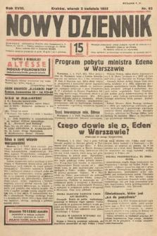 Nowy Dziennik. 1935, nr92
