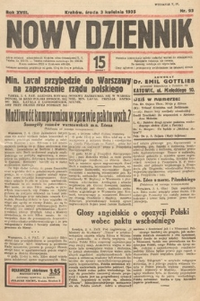 Nowy Dziennik. 1935, nr93