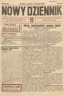 Nowy Dziennik. 1935, nr94