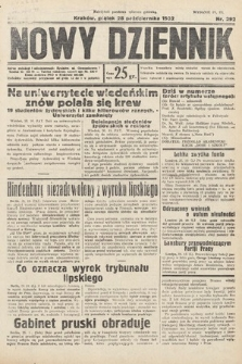 Nowy Dziennik. 1932, nr292