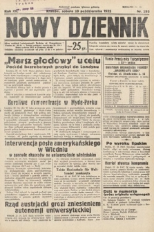 Nowy Dziennik. 1932, nr293