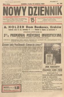 Nowy Dziennik. 1935, nr100