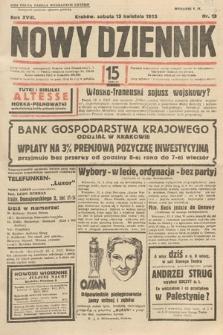 Nowy Dziennik. 1935, nr103