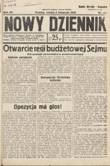 Nowy Dziennik. 1932, nr300