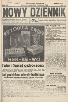 Nowy Dziennik. 1932, nr301